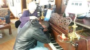 Me at piano head down 1